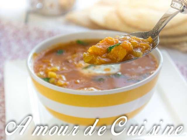 Recettes de soupe de lentilles corail de amour de cuisine chez soulef - La maison douce blog ...