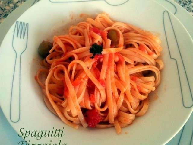 Recettes de spaghetti de amour de cuisine chez soulef for Cuisine yousra