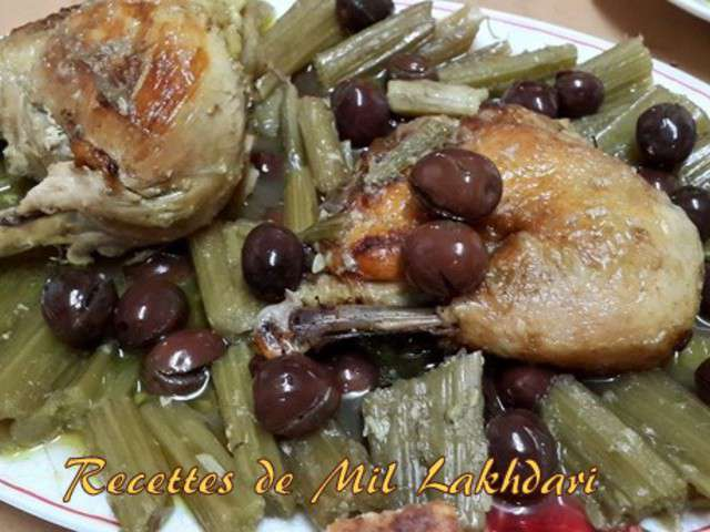 Recettes de cardon et poulet - Un amour de cuisine chez soulef ...
