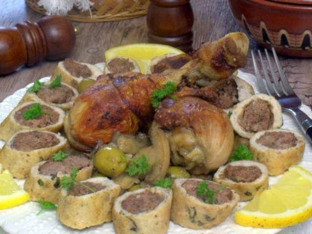 tajine-de-champignon-roule-de-poulet-a-l