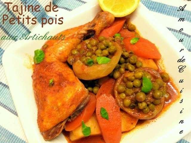 Recettes de petits pois et artichauts 4 for Amour de cuisine de soulef