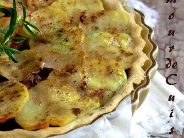 Recettes de tourtes et tarte sal es - Un amour de cuisine chez soulef ...