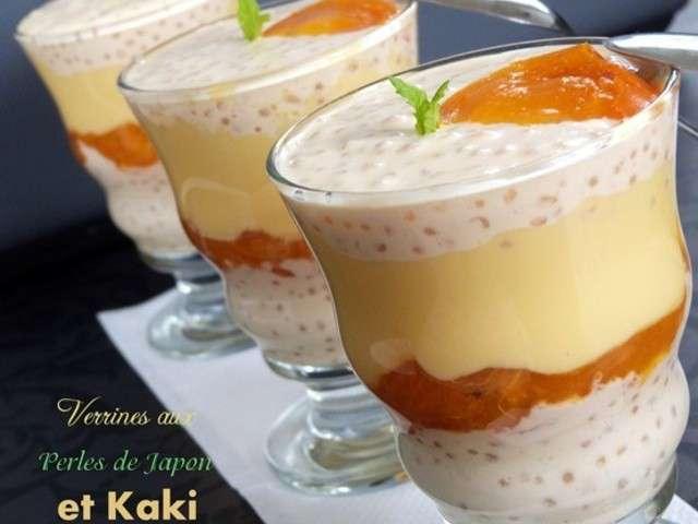 Les meilleures recettes de kaki et verrines for Amour de cuisine chez lila