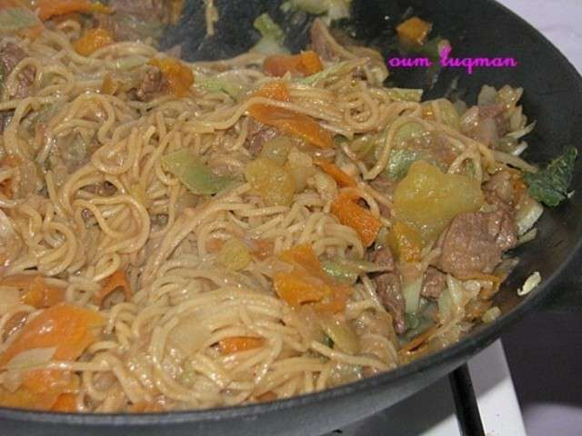 Recettes de nouilles de amour de cuisine chez soulef for Amour de cuisine chez soulef 2012