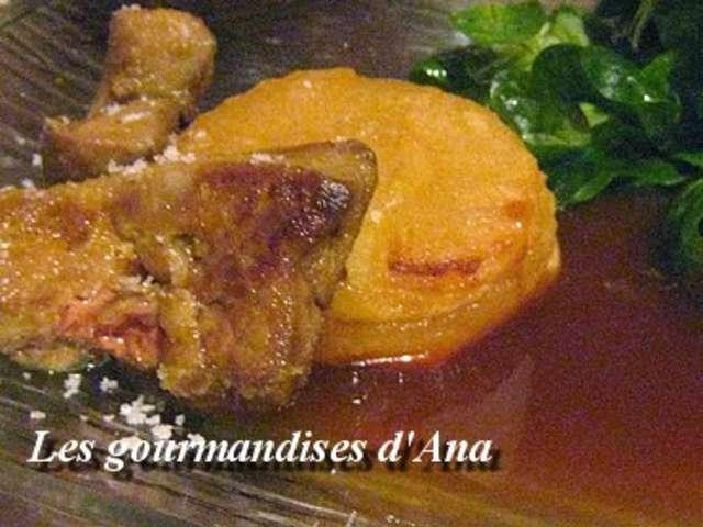 recettes de tarte tatin au foie gras. Black Bedroom Furniture Sets. Home Design Ideas