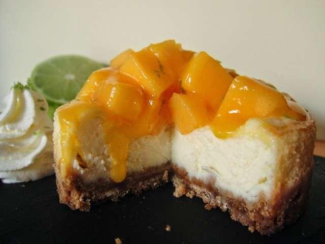 Recettes de citron vert et chantilly - Cheesecake fruit de la passion ...