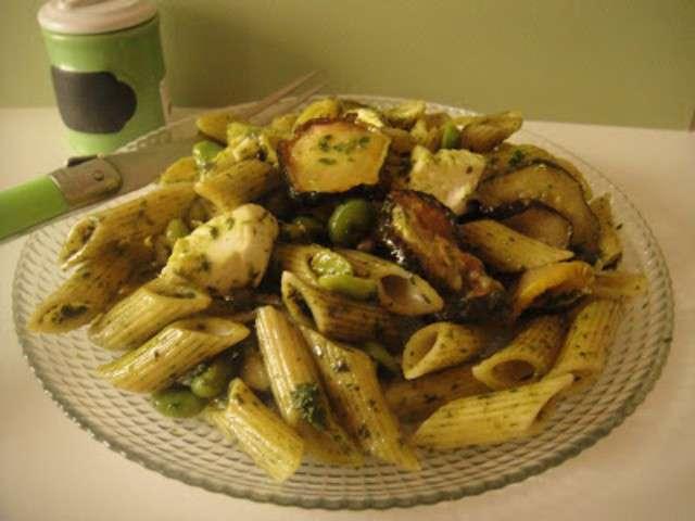 recettes de salade de p 226 tes et courgettes