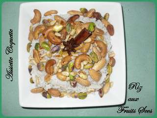 Riz aux fruits secs ou riz royal