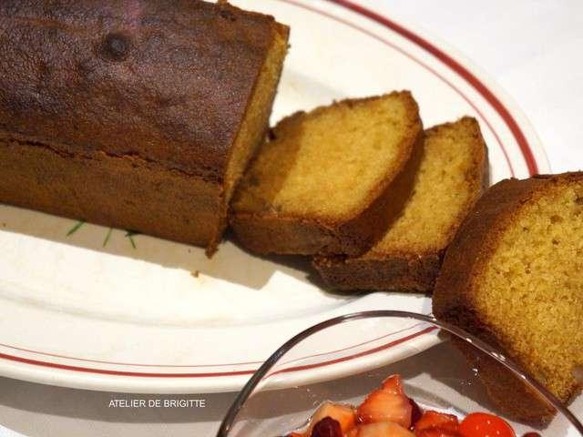 Cake Citron Vert Salade De Fruit