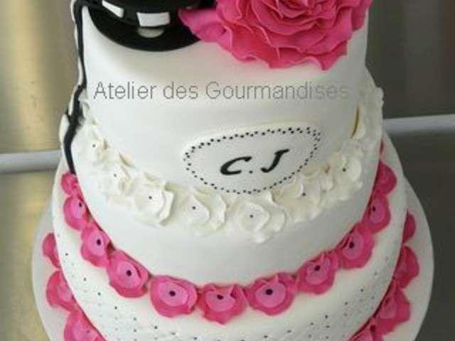 ... Meilleures Recettes de Gâteau de Mariage de Atelier des Gourmandises