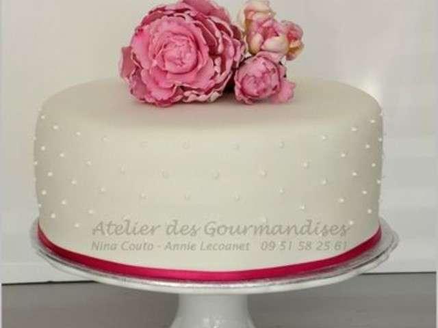 Recettes de Gâteau de Mariage de Atelier des Gourmandises