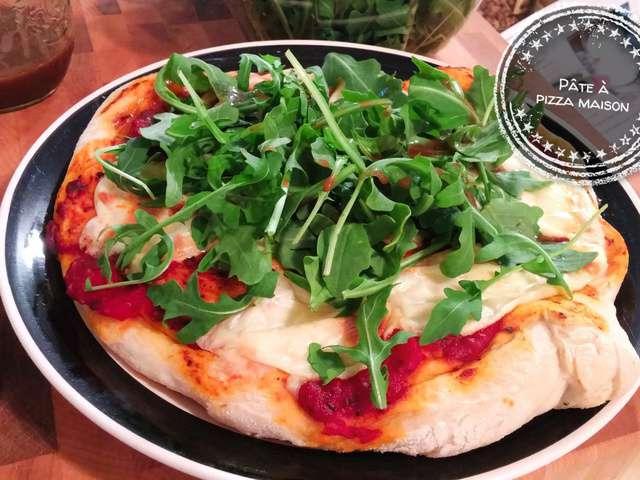 Recettes de p te pizza - Recette pate a pizza italienne epaisse ...