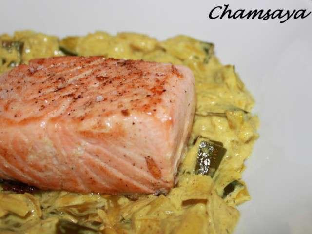 Recettes de pav de saumon et poireaux - Comment cuisiner des paves de saumon ...