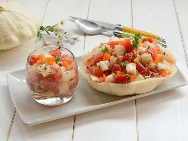 recette patisson salade un site culinaire populaire avec des recettes utiles. Black Bedroom Furniture Sets. Home Design Ideas