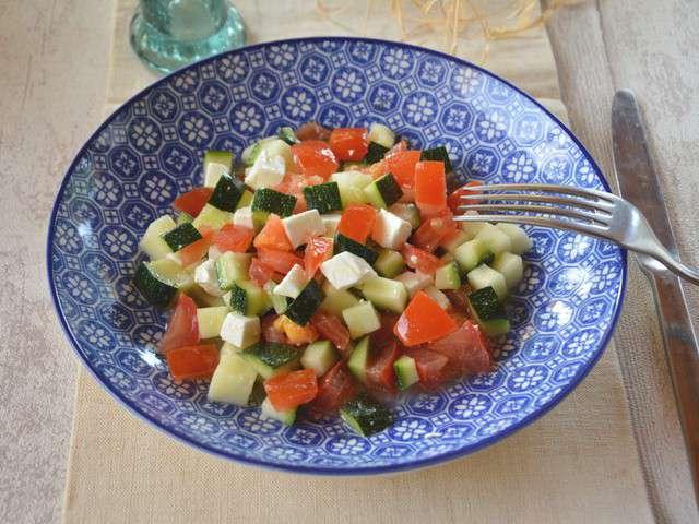 Recettes de salade fraicheur et entr es for Entree fraicheur rapide