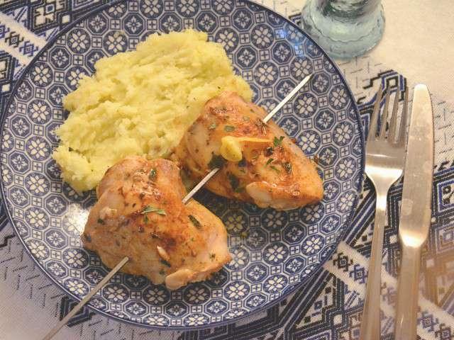 Recettes de cuisse de poulet et huile d 39 olive for Marinade poulet huile d olive