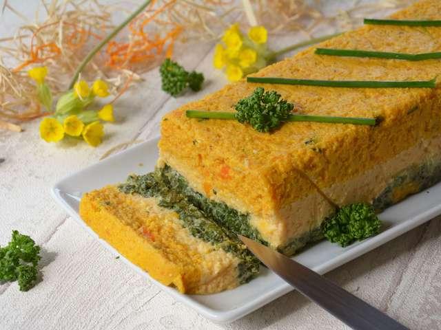 Recettes de terrine de l gumes et cuisine v g tarienne - Recette cuisine vegetarienne ...