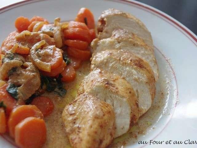 Recettes de poulet de au four et au clavier - Filet de poulet au four ...