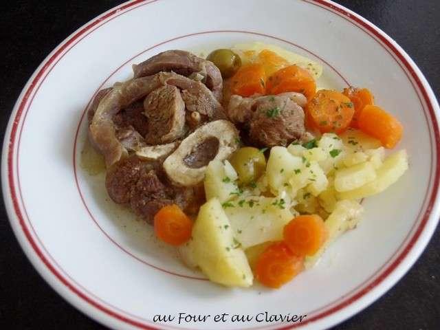 Recettes de jarret de veau de au four et au clavier - Cuisiner un jarret de veau ...