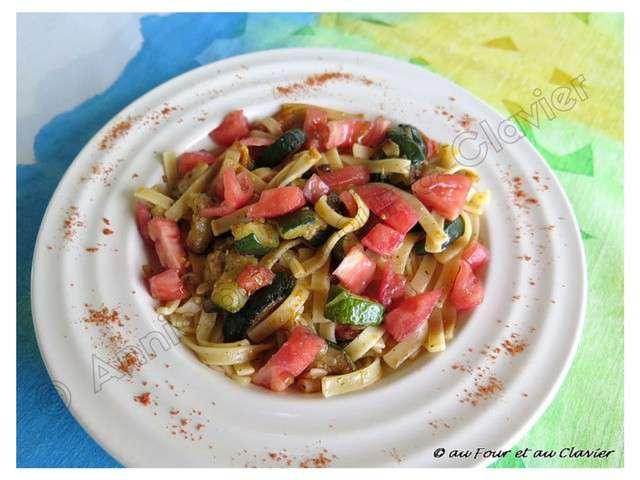 recettes de courgettes de au four et au clavier