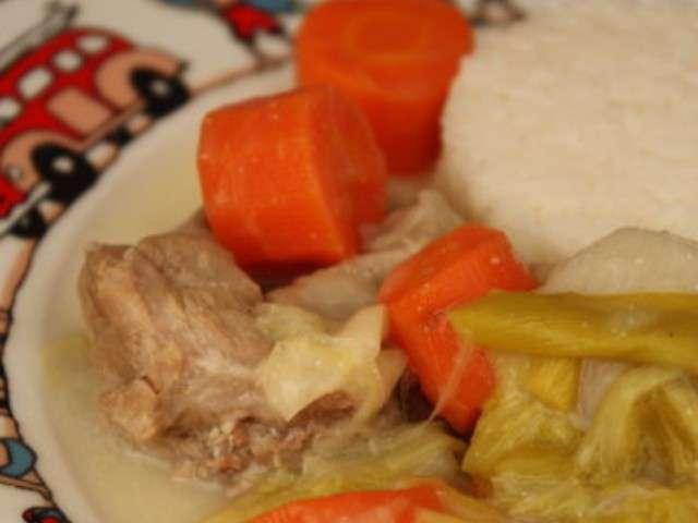 Recettes de blanquette de veau de audrey cuisine - Cuisine blanquette de veau ...