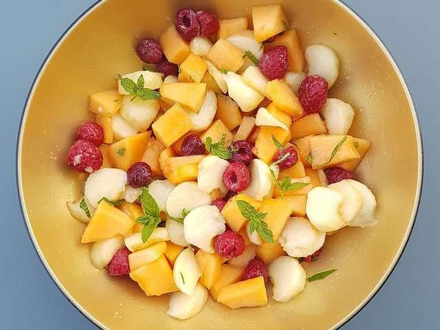Recettes de salade de fruits de audrey cuisine - La petite cuisine d audrey ...