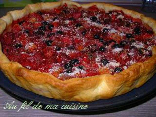 Recettes de fruits rouges et tarte aux fruits 3 - Toutes les recettes de laurent mariotte ...