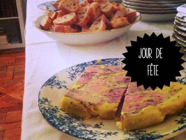 Recettes de foie gras en terrine - Recette foie gras en terrine ...