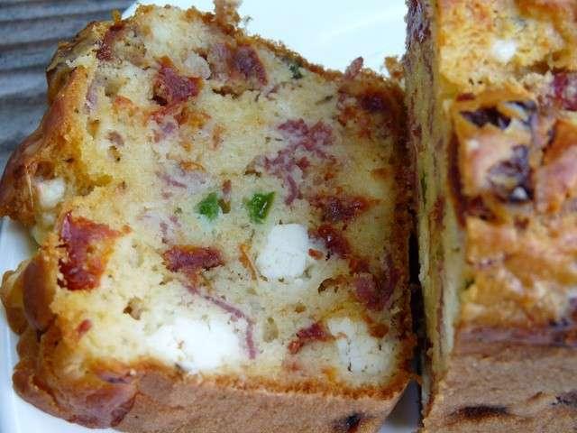 Recette Cake Tomate Sechees Mozzarella