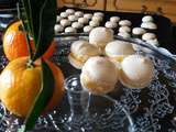 Macarons clementines