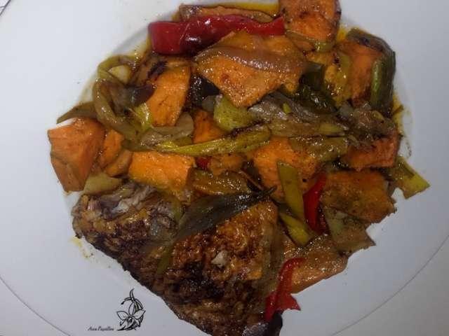 Recettes de poireaux de aux papilles - Recette poulet patate douce ...
