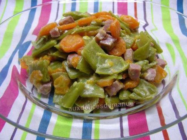 plat de carotte