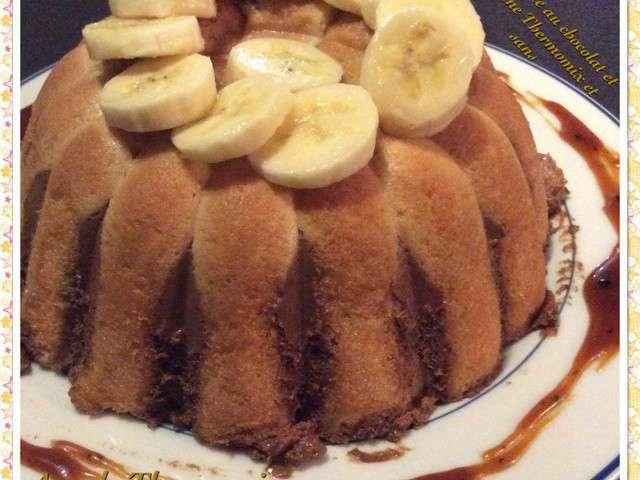 Recettes de charlotte au chocolat et bananes - Recette charlotte au chocolat ...