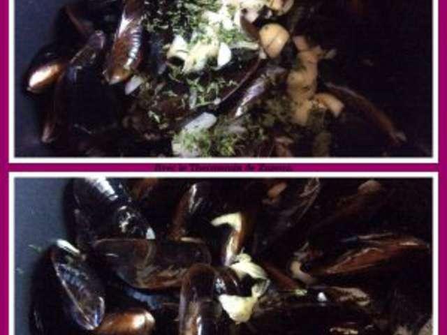 recettes de moules marinières