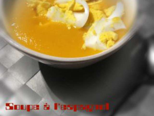 Recettes de thermomix et soupe - Recette soupe thermomix ...