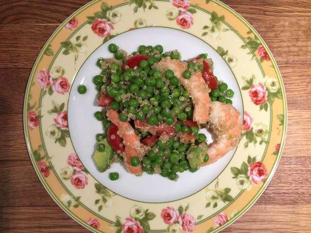 Recettes de salades et crevettes de a z 33 for Koi y mange zordi