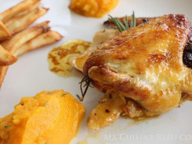 Recettes de poulet r ti et farcis - Cuisiner un poulet roti ...