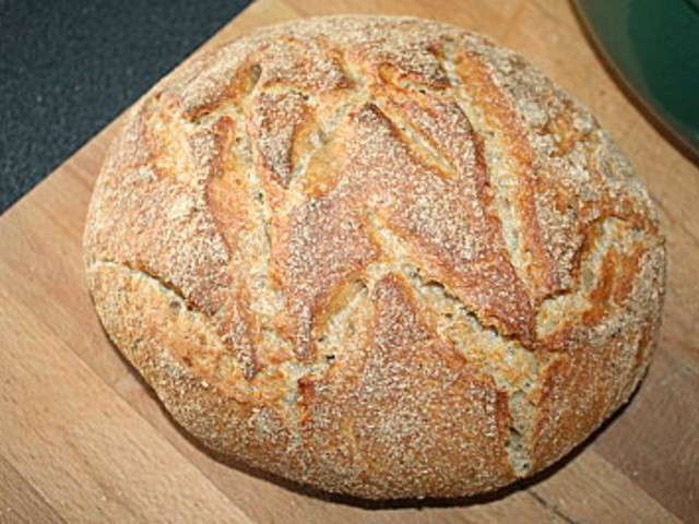 Les meilleures recettes de pain cocotte - Recette pain sans levure ...