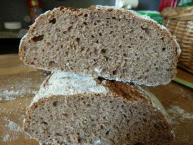 Recettes de pain sans petrissage - Recette pain sans levure ...