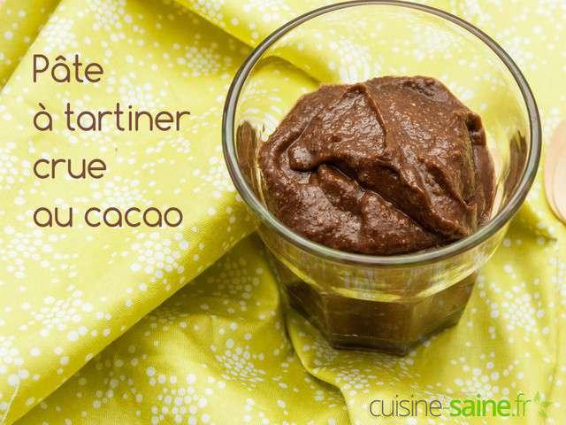 Recettes de cacao et p te tartiner - Cuisine crue et vivante ...