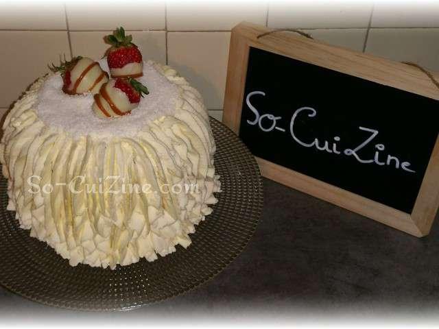 Recette Cake Design Fraise : Les Meilleures Recettes de Cake et Cake Design - 14