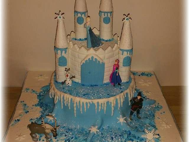 Recettes de reine des neiges et g teaux - Chateau reine des neige ...