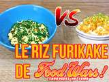 Riz Furikake de Food Wars