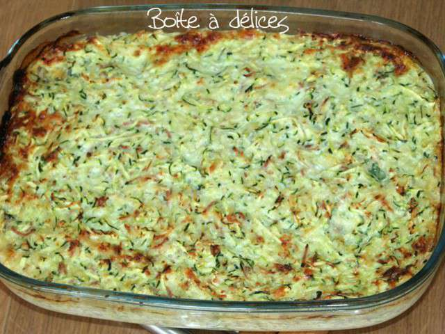 recettes de gratin de courgettes et riz. Black Bedroom Furniture Sets. Home Design Ideas
