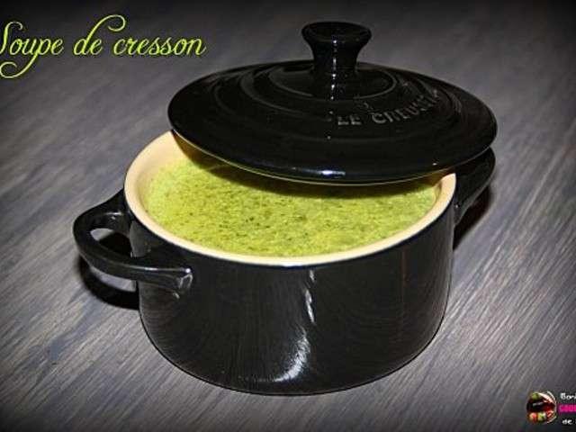 les meilleures recettes de cresson et soupe. Black Bedroom Furniture Sets. Home Design Ideas