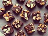 Brownies haricots rouges & amandes