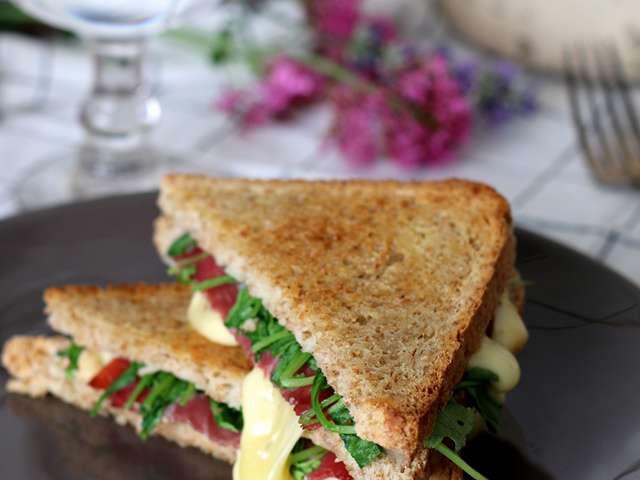 Recettes de croque monsieur et sandwich - Recette croque monsieur four ...