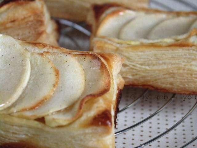 Recettes de by acb 4 you 22 - Feuillete aux pommes caramelisees ...