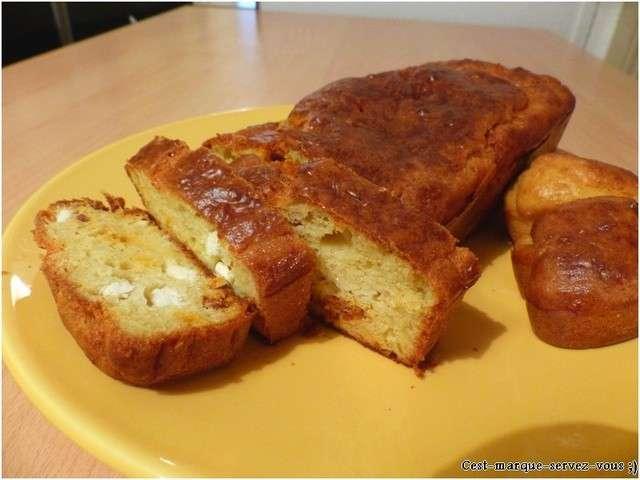 Recette Cake Chorizo Feta Poivron