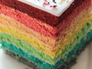 recettes de rainbow cake. Black Bedroom Furniture Sets. Home Design Ideas